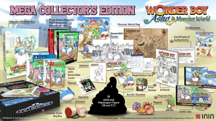Мегаколлекционное издание Wonder Boy: Asha in Monster World