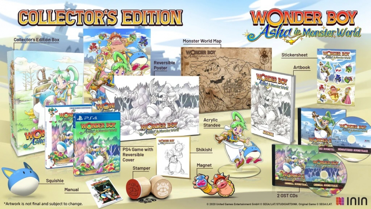 Коллекционное издание Wonder Boy: Asha in Monster World