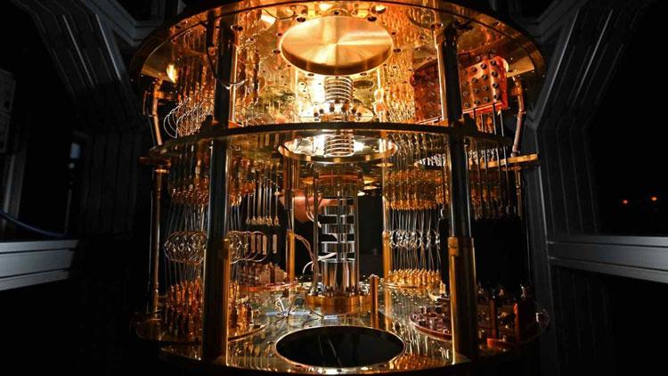 Квантовый компьютер на сверхпроводящих кубитах. Источник изображения: Takaki Kashiwabara