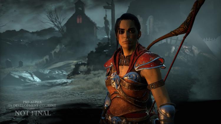 Разбойница в Diablo IV