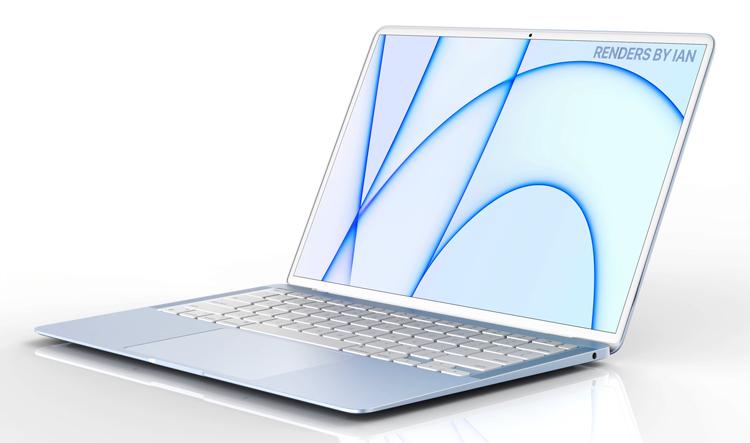 Новые ноутбуки Apple MacBook могут получить яркий дизайн в стиле iMac
