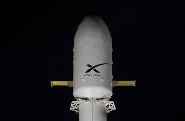 Очередная партия спутников Starlink выведена на орбиту десятикратно использованной ракетой Falcon 9