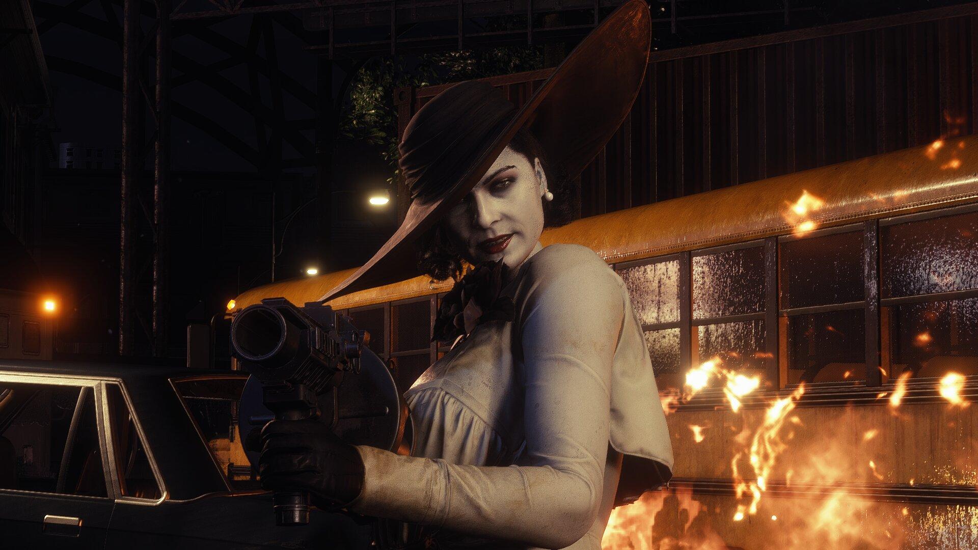 Моддер заменил главную героиню в ремейке Resident Evil 3 на леди Димитреску из RE Village