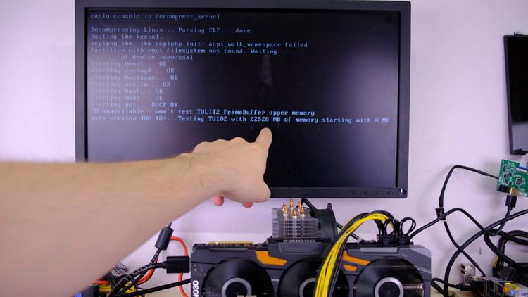 Программа определила, что GeForce RTX 2080 Ti поддерживает 22 Гбайт видеопамяти