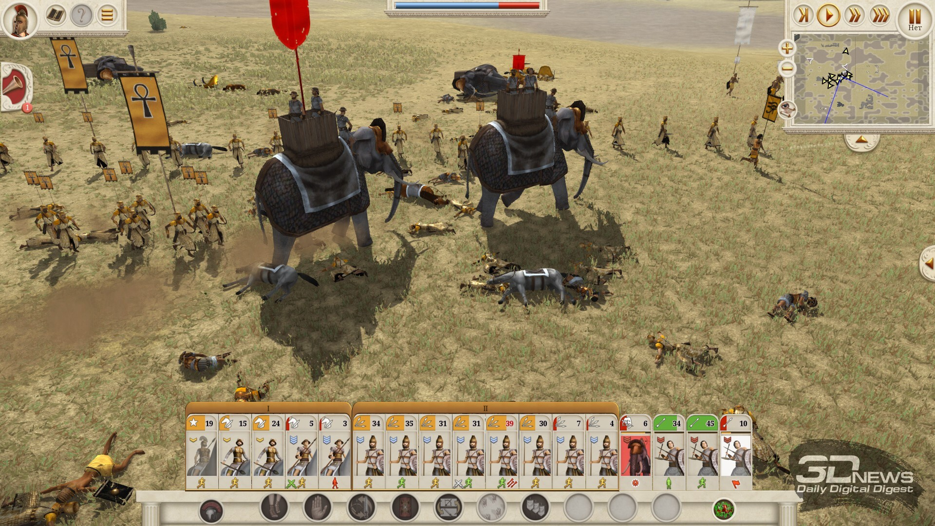 Total War: Rome Remastered  формальная война. Рецензия