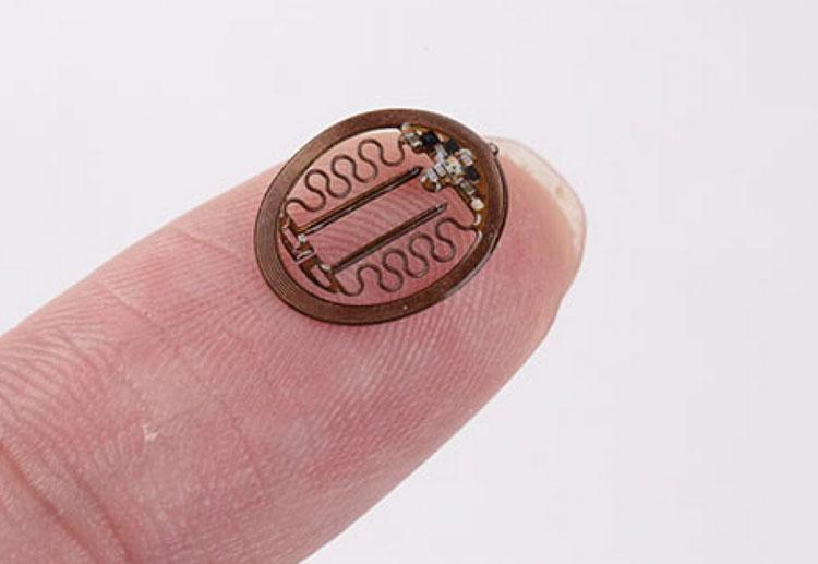 Беспроводной имплантат. Источник изображения: Northwestern University