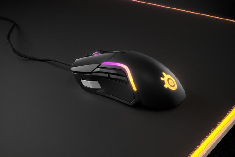 SteelSeries представила игровую мышь Rival 5 — девять кнопок и цена 70 евро