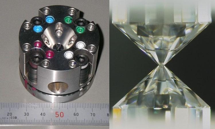 Алмазная наковальня. Источник изображения: Hirose