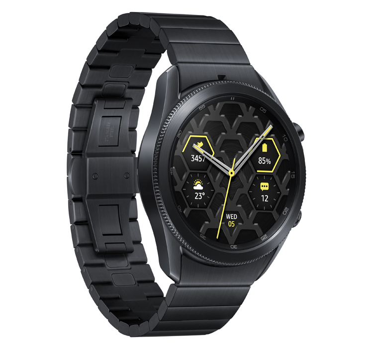 Samsung Galaxy Watch3 в титановом корпусе