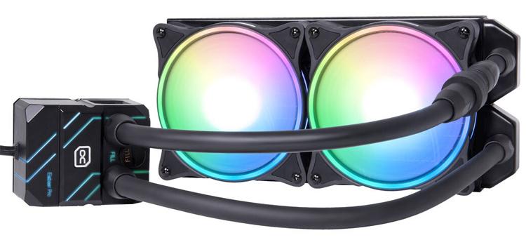 Alphacool представила готовые системы жидкостного охлаждения Eisbaer Pro Aurora с радиаторами на 240 и 360 мм