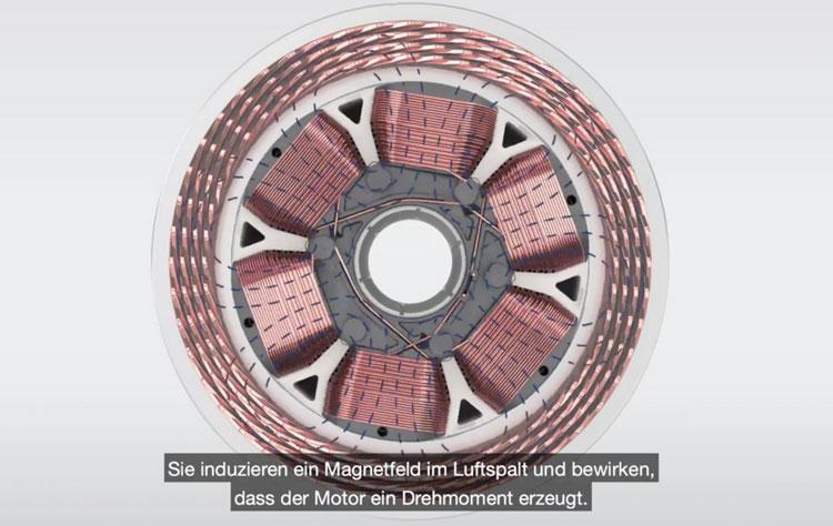В Германии создали автомобильный электродвигатель без постоянных магнитов — дешевле, экономичнее и эффективнее