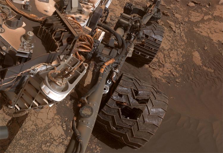 """Марсоход Curiosity при необходимости сбросит повреждённое колесо для продолжения миссии"""""""