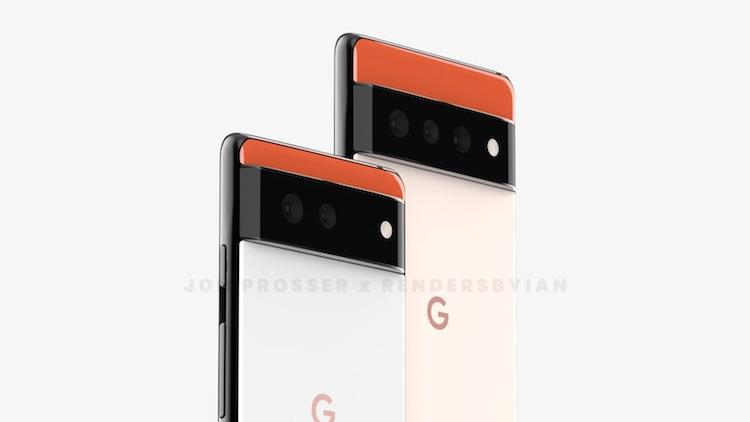 """Грядущий флагман Google Pixel 6 показался на рендерах в совершенно новом дизайне"""""""