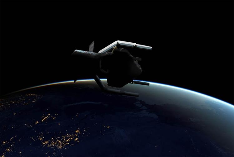 Космический мусорщик в представлении художника. Источник изображения: ESA