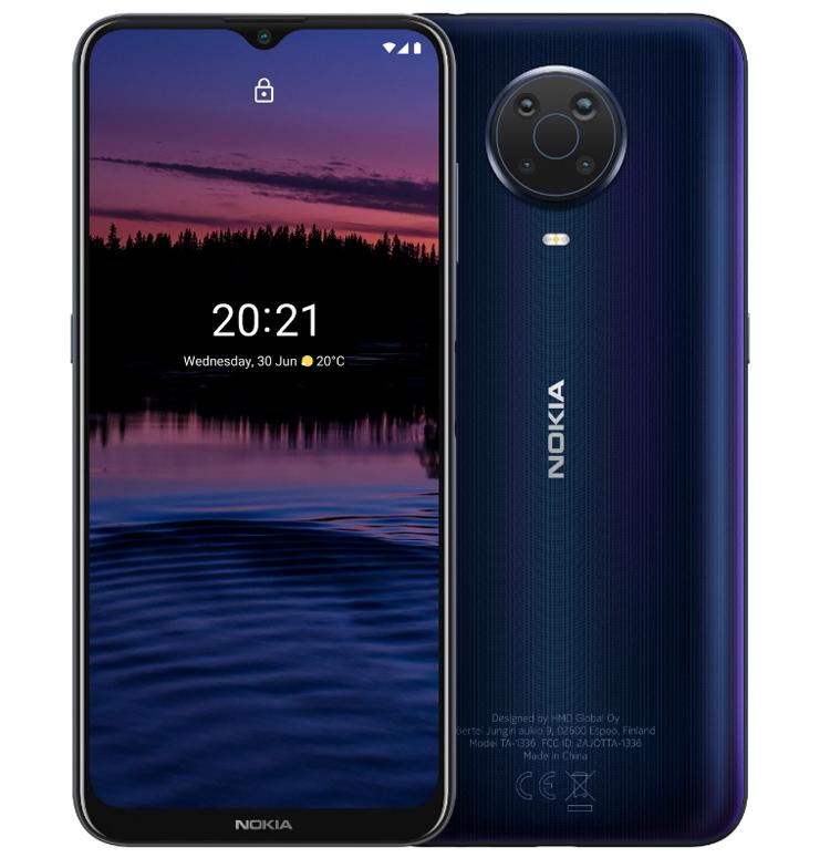 В России представлены смартфоны Nokia G20, X20 и X10 с квадрокамерами по цене от 12 990 рублей