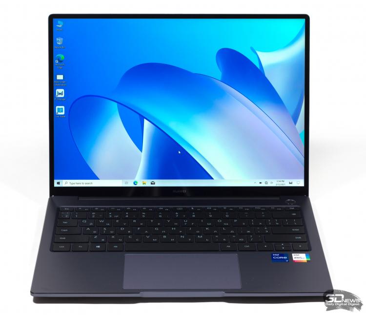 Обзор ноутбука HUAWEI MateBook 14 2021 (KLVD-WFE9) с экраном 3:2 и обновленной начинкой