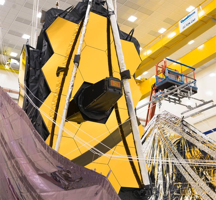 """Запуск телескопа «Джеймс Уэбб» может задержаться из-за ракеты-носителя"""""""