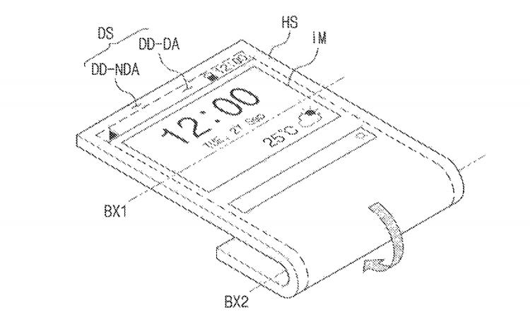 В Samsung придумали необычный смартфон, гнущийся в разные стороны