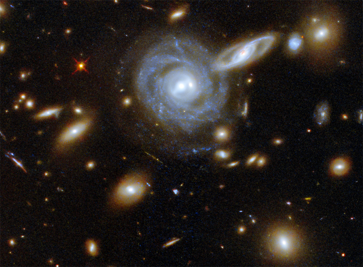 Здесь и ниже изображения NASA/ESA Hubble Space Telescope