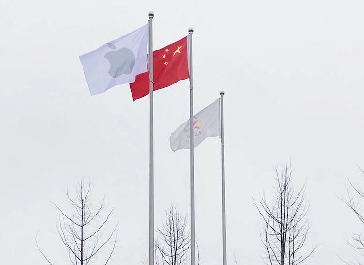 Apple борется за защиту персональных данных, но для Китая сделала исключение