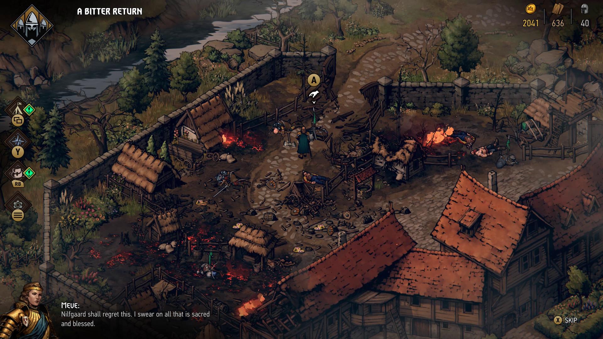 Thronebreaker: The Witcher Tales выйдет на Android 17 июня  первые несколько часов игры будут бесплатными