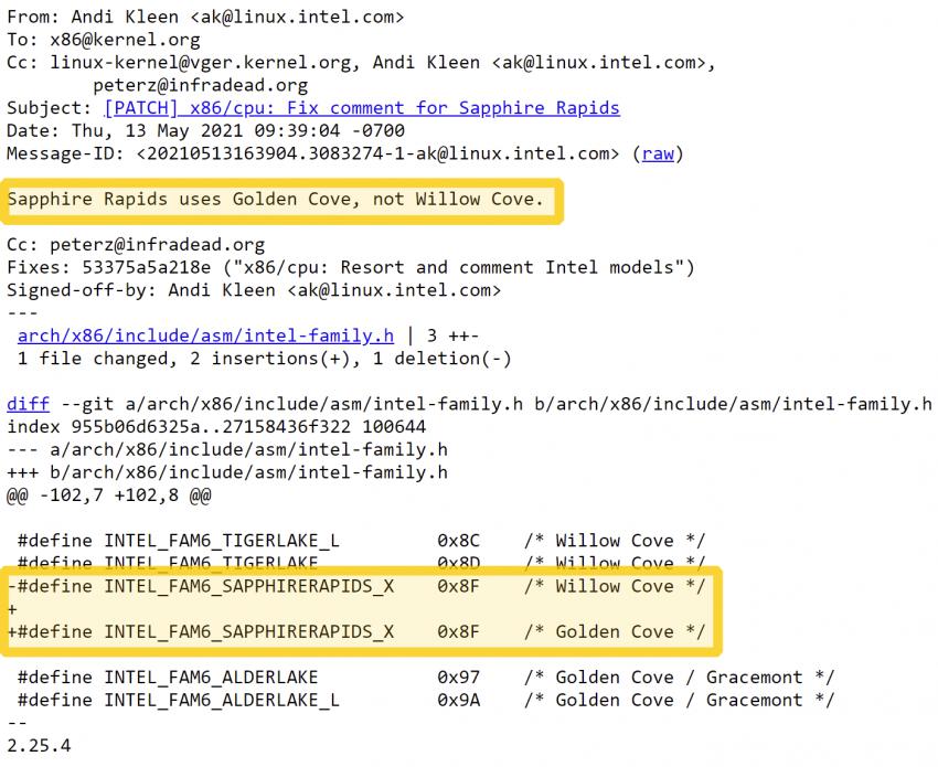 Intel подтвердила, что серверные процессоры Sapphire Rapids получат ядра Golden Cove  как и настольные Alder Lake
