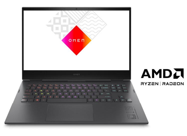"""HP Omen 16 станет одним из первых игровых ноутбуков с графикой AMD Radeon RX 6000M"""""""