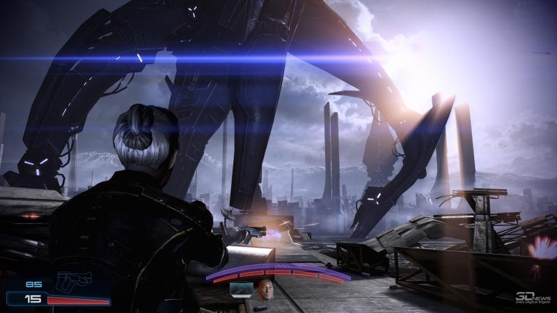 Грандиозные сцены Mass Effect и их эмоциональный контекст дадут фору иному фантастическому кинополотну