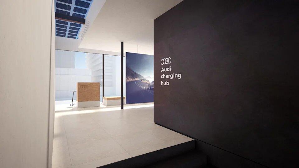 Audi в конце лета начнёт тестирование станций быстрой зарядки для электромобилей