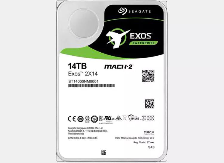Seagate представила Mach.2 Exos 2X14 — самый быстрый жёсткий диск в мире, способный потягаться с SSD