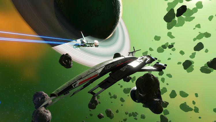 Вселенные сошлись: игроки разгадали секреты экспедиции в No Man's Sky и открыли «Нормандию» из Mass Effect
