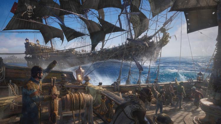 Слухи: разработку Skull & Bones в очередной раз перезапустили — теперь игра отчасти похожа на Sea of Thieves