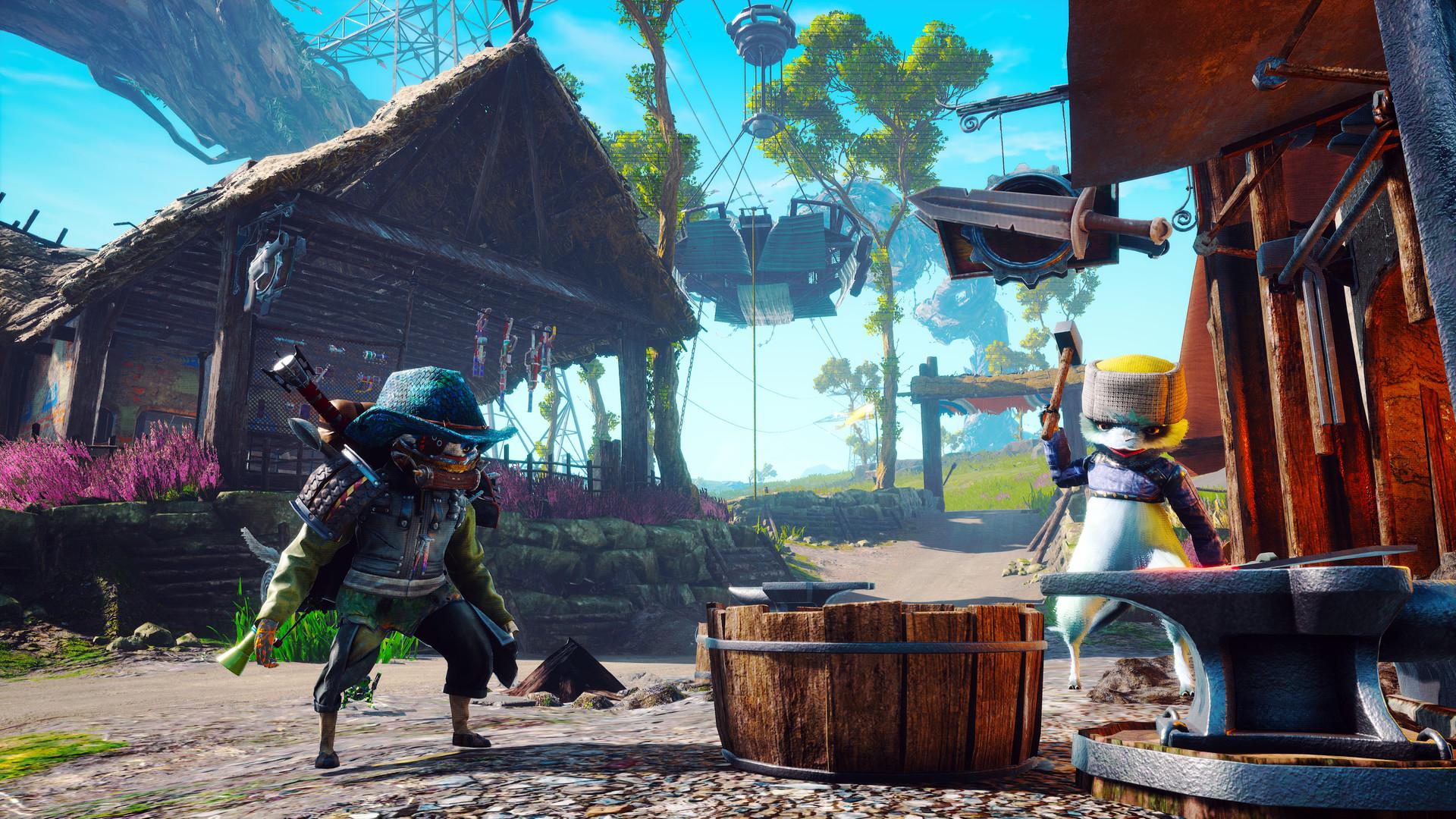 Пиковый онлайн Biomutant в Steam превысил 55 тыс. пользователей  рекорд для игр THQ Nordic
