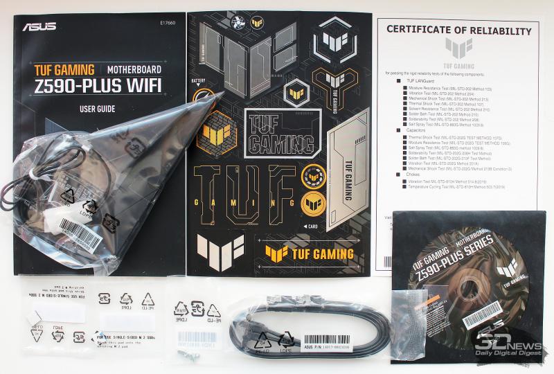 Обзор и тестирование материнской платы ASUS TUF Gaming Z590 Plus WiFi: без излишеств
