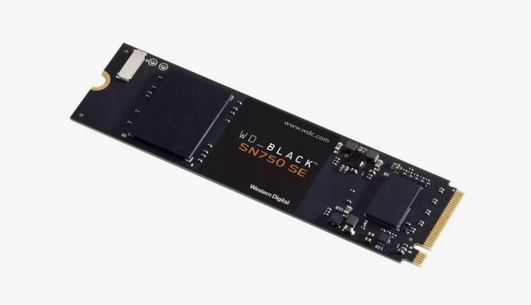 Western Digital представила доступные NVMe-накопители WD Black SN750 SE с поддержкой PCIe 4.0