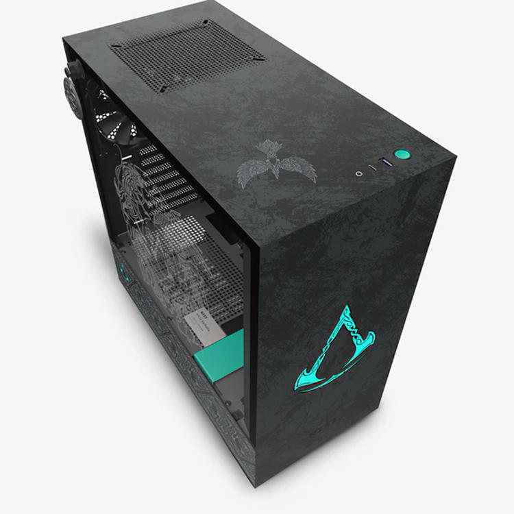 NZXT представила корпус CRFT 08 H510 Valhalla, посвящённый игре Assassin's Creed Valhalla