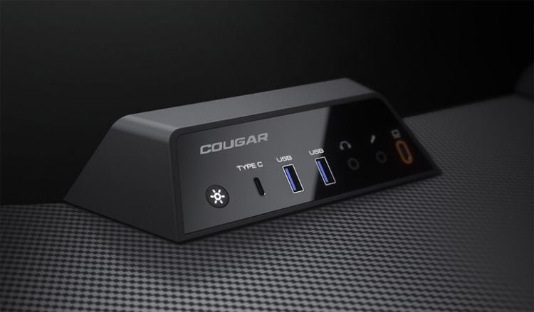Представлен игровой стол Cougar Mars Pro 150 с подсветкой и интерфейсным блоком