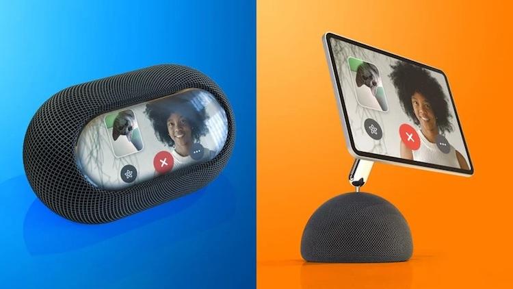 Apple выпустит смарт-колонку с сенсорным экраном, которая сможет перемещаться по комнатеза пользователем