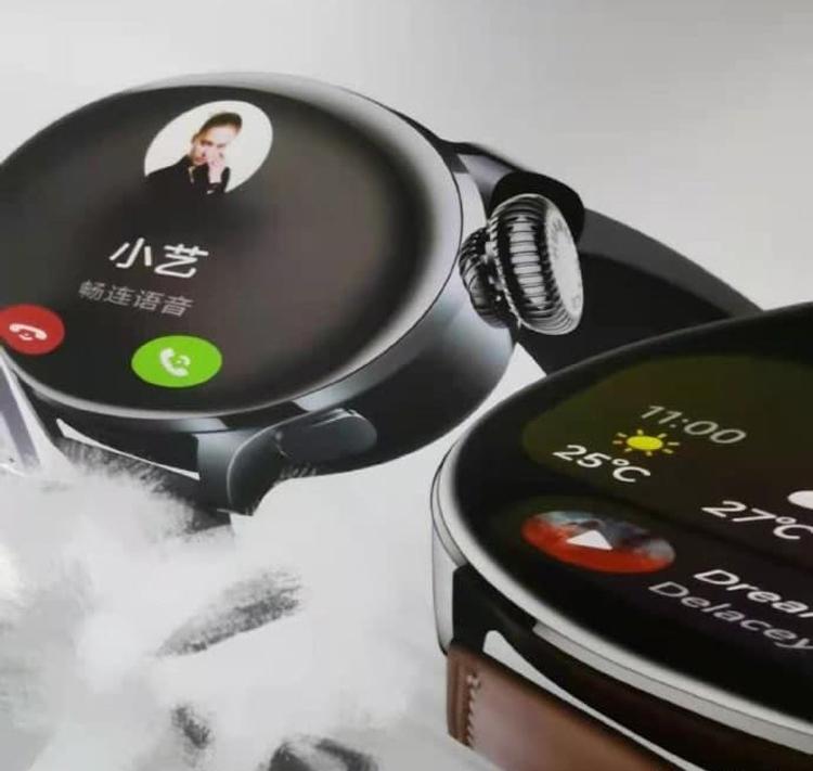Рендеры Huawei Watch 3 намекают на премиум-уровень новых смарт-часов