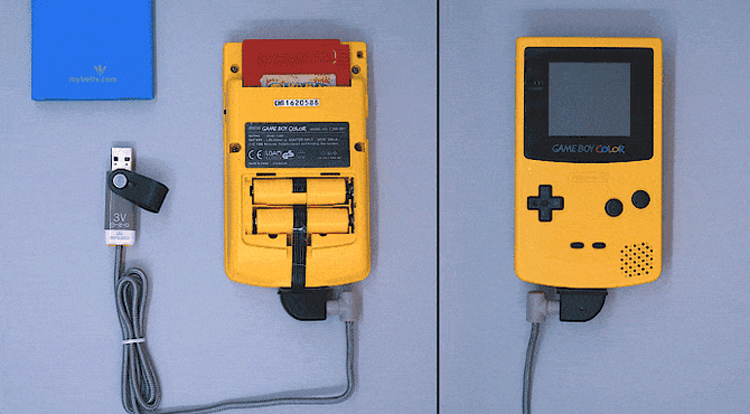 Устройство ReVolt наделит гаджеты на батарейках питанием по USB