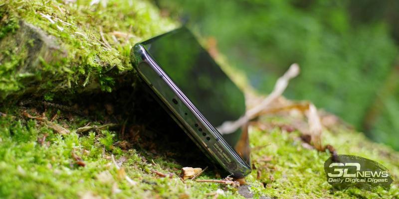 Xiaomi Mi 11 Ultra, верхняя грань: динамик, ИК-порт, микрофон