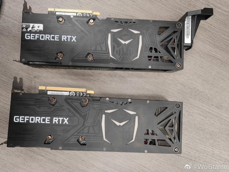Видеокарты GeForce RTX 3080 Ti в исполненииColorful, Zotac и Lenovo показались на изображениях