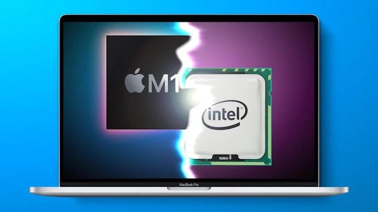 Intel раскритиковала процессоры Apple M1 за низкую производительность в играх