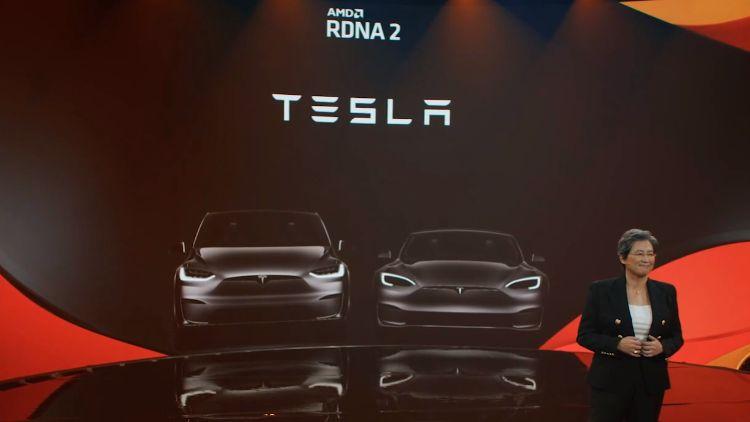AMD подтвердила, что мощная графика RDNA 2 пропишется в электромобилях Tesla