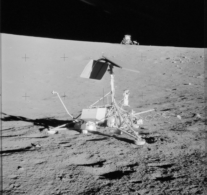 К завершению программы стоимость проекта Surveyor выросла с расчетного значения в 120 млн $ до 469 млн $. Фото NASA