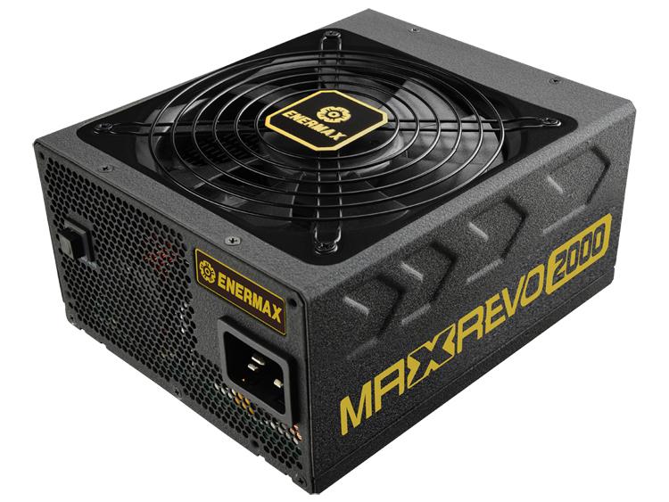 Представлен блок питания Enermax Maxrevo мощностью 2000 Вт