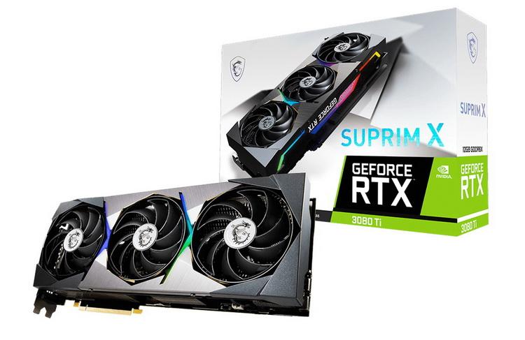 MSI GeForce RTX 3080 Ti Surpim X
