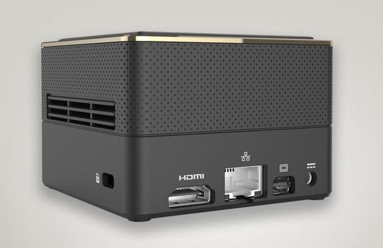 """Представлен очень компактный настольный компьютер ECS Liva Q3 Plus с процессором AMD Ryzen Embedded"""""""