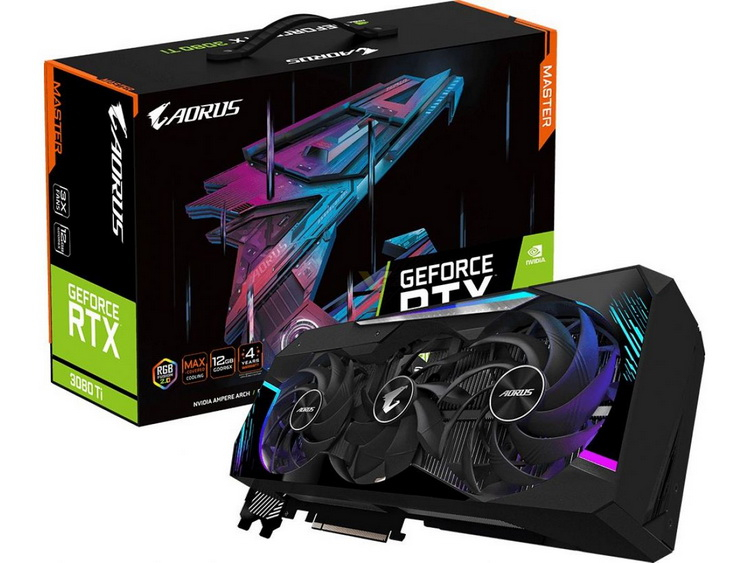Gigabyte представила GeForce RTX 3080 Ti и RTX 3070 Ti в исполнениях Aorus, Vision и Eagle