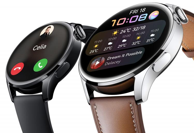 Huawei представила Watch 3  первые смарт-часы на базе фирменной HarmonyOS